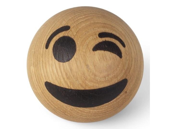 Drewniana dekoracja Winking Face, Spring Copenhagen Drewno Kategoria Figury i rzeźby