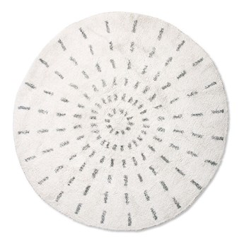 Okrągła mata łazienkowa Ø120 HKLiving