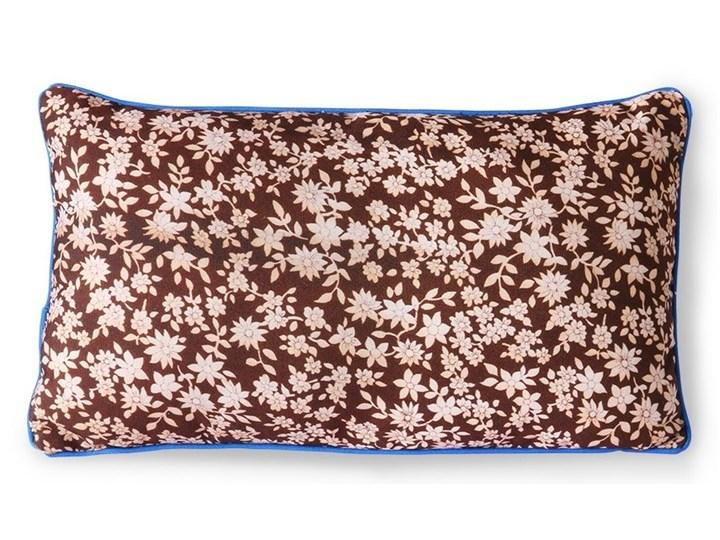Brązowa poduszka z nadrukiem 35x60, HKLiving 35x60 cm Poduszka dekoracyjna Wzór Roślinny Pomieszczenie Sypialnia