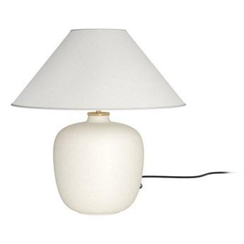 Lampa stołowa beżowa Torso, Menu