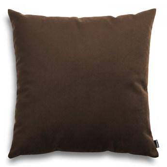 Poduszka Pram welurowa, brązowy 45x45cm, Poduszkowcy