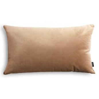 Poduszka Velvet jasno beżowy,50x30 cm, Poduszkowcy