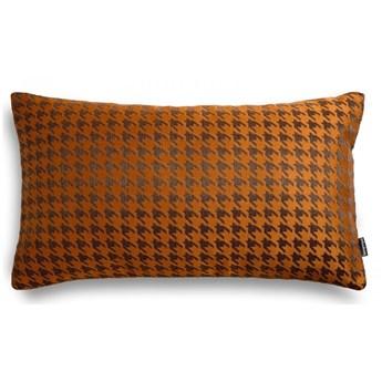 Poduszka ruda w pepitkę 50x30 cm, Poduszkowcy