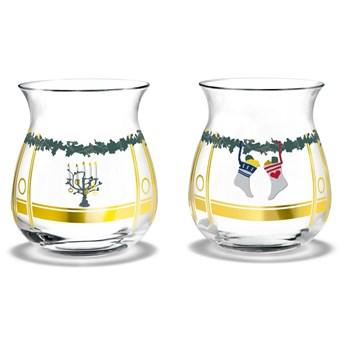 Zestaw dwóch świeczników Christmas, Holmegaard