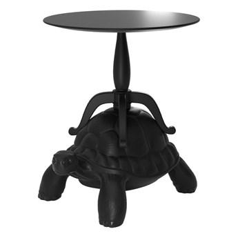 Stolik czarny Turtle Carry, QeeBoo