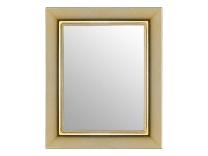 Lustro złote Francois Ghost, Kartell Prostokątne Kolor Złoty Kategoria Lustra