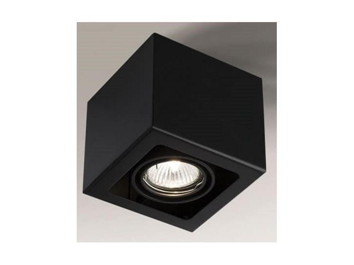 Oprawa natynkowa czarna Awa, Shilo Oprawa stropowa Kolor Czarny Kategoria Oprawy oświetleniowe