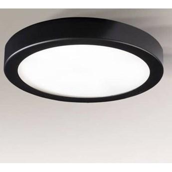 Oprawa natynkowa okrągły LED, czarna ITO, Shilo