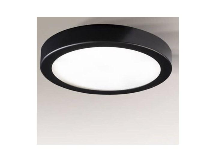 Oprawa natynkowa okrągły LED, czarna ITO, Shilo Oprawa stropowa Okrągłe Kolor Czarny Oprawa led Kategoria Oprawy oświetleniowe