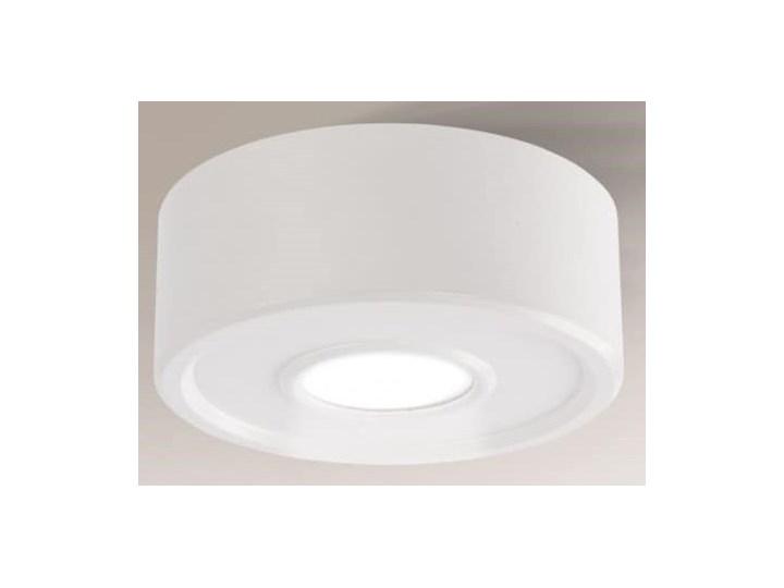 Okrągła oprawa metalowa ENA IL biała, Shilo Oprawa stropowa Kolor Biały Okrągłe Kategoria Oprawy oświetleniowe