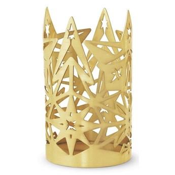 Świecznik złoty Karen Blixen 13,5 cm, Rosendahl