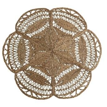 Okrągły dywan z trawy morskiej, Madam Stoltz