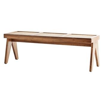 Ławka z drewna tekowego, Madam Stoltz