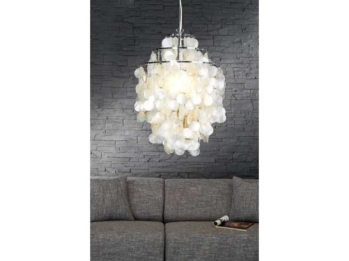 Ozdobna lampa wisząca Shell Rings L, Interior Space Lampa z kloszem Lampa inspirowana Styl Glamour