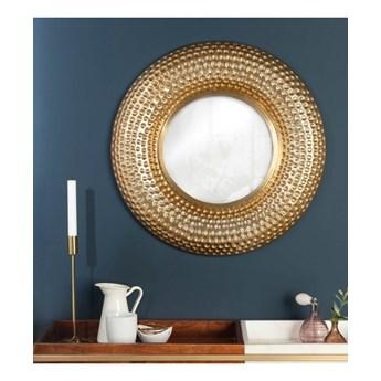 Okrągłe lustro Orient 60 cm, złote, Interior Space