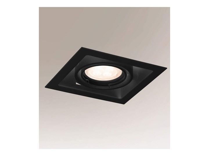 Oprawa wpuszczona, metalowa, czarna Ebino , Shilo Oprawa stropowa Kolor Czarny Kategoria Oprawy oświetleniowe