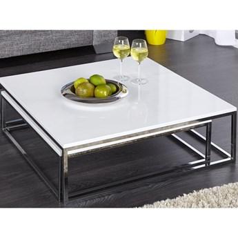Zestaw stolików kawowych New Elements 2 szt. biały Interior Space