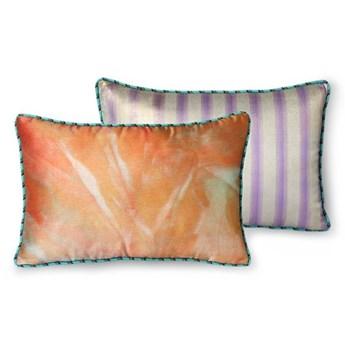 Satynowa poduszka brokatowa z nadrukiem, HKliving