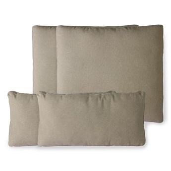 Zestaw jasnobrązowych poduszek indoor/outdoor, HKliving