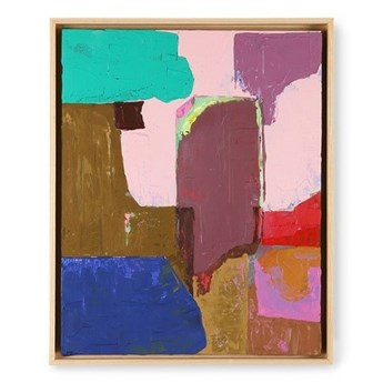 Abstrakcyjny, wielokolorowy obraz, HKliving