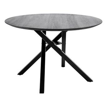 Stół do jadalni Connor, czarny, dąb, Bloomingville