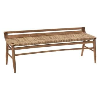 Ławka z drewna tekowego Anna, J-Line