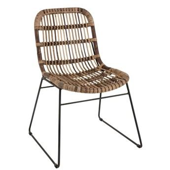 Krzesło z liści bananowca Billie,  J-Line