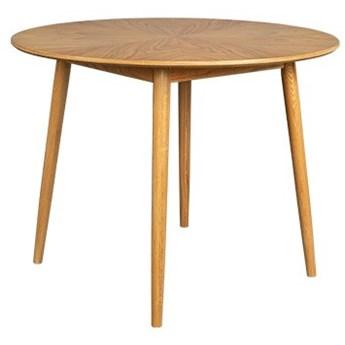 Naturalny stół Fabio Ø120 cm, LuDesign
