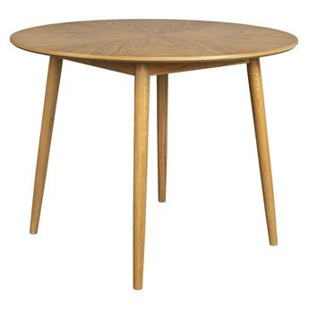 Naturalny stół Fabio Ø100 cm, LuDesign