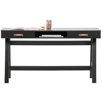 Czarne biurko Dian, Woood