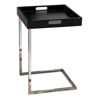 Stolik pomocniczy Ciano, czarny, Interior Space
