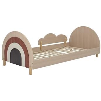 Łóżko Charli Junior, brązowe, Bloomingville