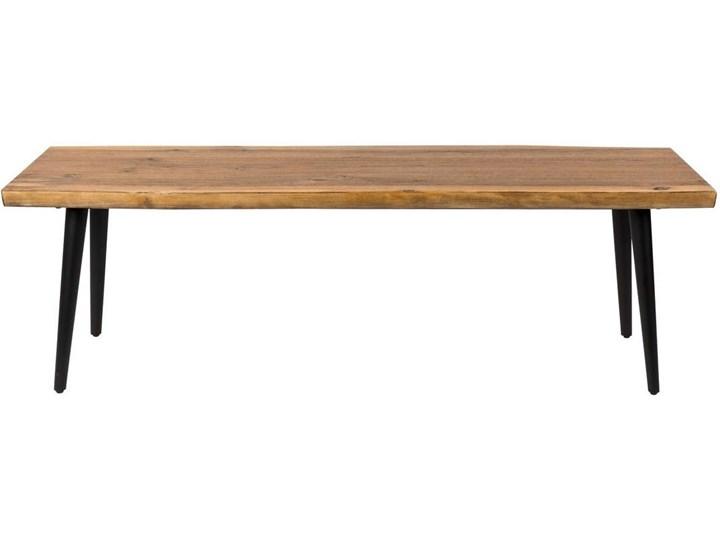 Ławka Alagon 160x40, orzechowy, Dutchbone Pomieszczenie Przedpokój Materiał nóżek Drewno