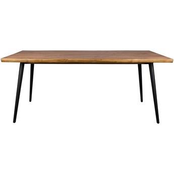 Stół Alagon 160x90, orzechowy, Dutchbone