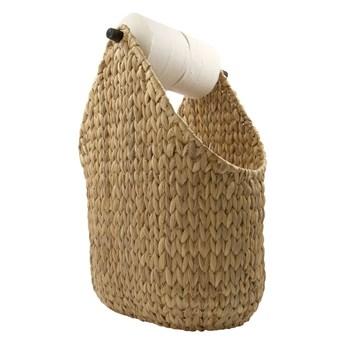 Stojak na papier toaletowy z koszem Paper, House Doctor