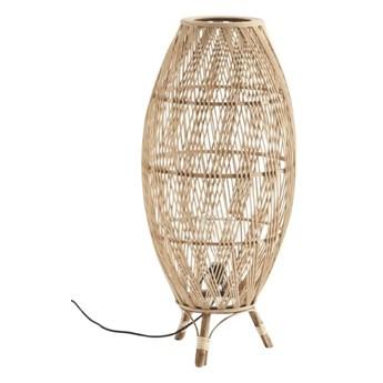 Bambusowa lampa podłogowa Joan, Madam Stoltz