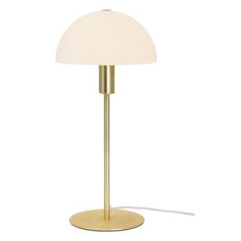 Lampa stołowa Ellen ze złotą podstawą, Nordlux