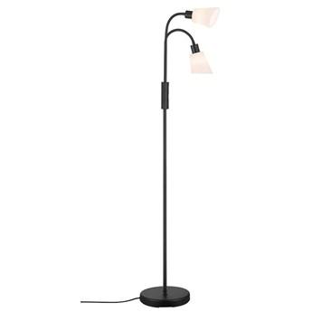 Podwójna lampa podłogowa Molli, czarna, Nordlux