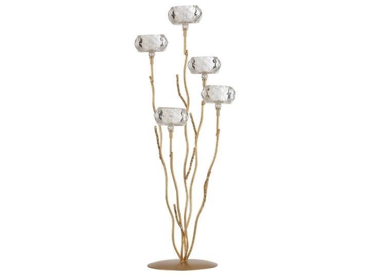 Kryształowy świecznik tealight Glitter L, J-Line Szkło Kategoria Świeczniki i świece