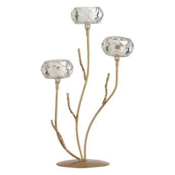 Kryształowy świecznik tealight Glitter M, J-Line