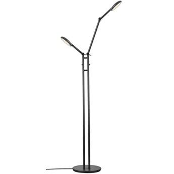 Lampa podłogowa Bend Double, czarna, Nordlux