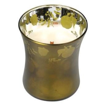 Średnia świeca zapachowa Dancing Hourglass Apple Basket, WoodWick