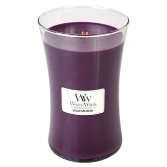 Duża świeca zapachowa Spiced Blackberry, Woodwick