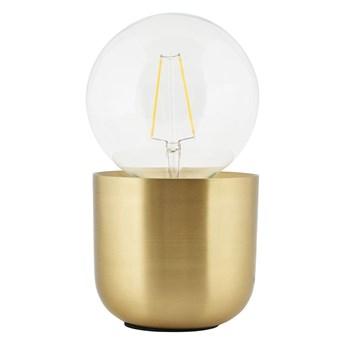 Mosiężna lampa stołowa Gleam złota, House Doctor
