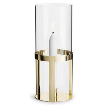 Świecznik ze szkła Hold 25cm, Sagaform Winter