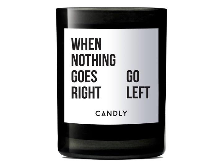 Świeca zapachowa geranium i kadzidło, When Nothing Goes Right, Candly Szkło Kategoria Świeczniki i świece