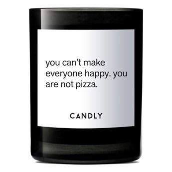 Świeca zapachowa kwiat lotosu i winogrona, You can't make everyone happy. you are not pizza., Candly