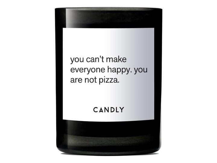 Świeca zapachowa kwiat lotosu i winogrona, You can't make everyone happy. you are not pizza., Candly Szkło Kategoria Świeczniki i świece