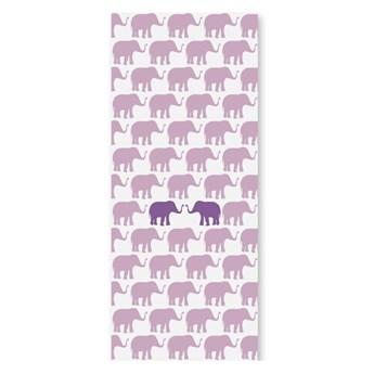 Tapeta dla dzieci Fioletowe słonie, Humpty dumpty