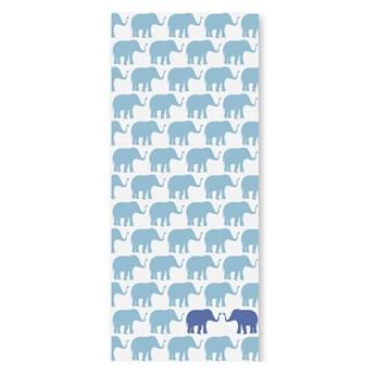 Tapeta dla dzieci Niebieskie słonie, Humpty dumpty